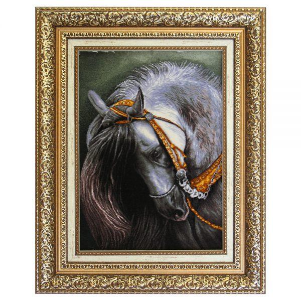 تابلوفرش دستباف اسب کد 22171
