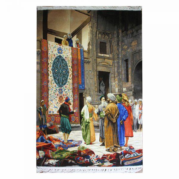 تابلوفرش دستباف بازار فرش قاهره کد 22267