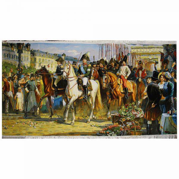 تابلوفرش دستباف بازگشت ناپلئون